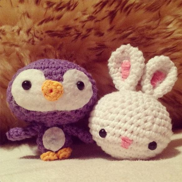 Penguin and Squishy Bunny