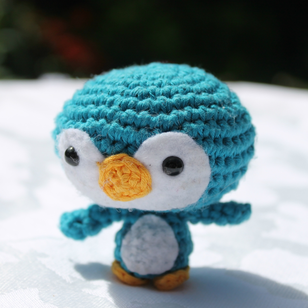 Baby penguin, pattern from A Morning Cup of Jo Creations