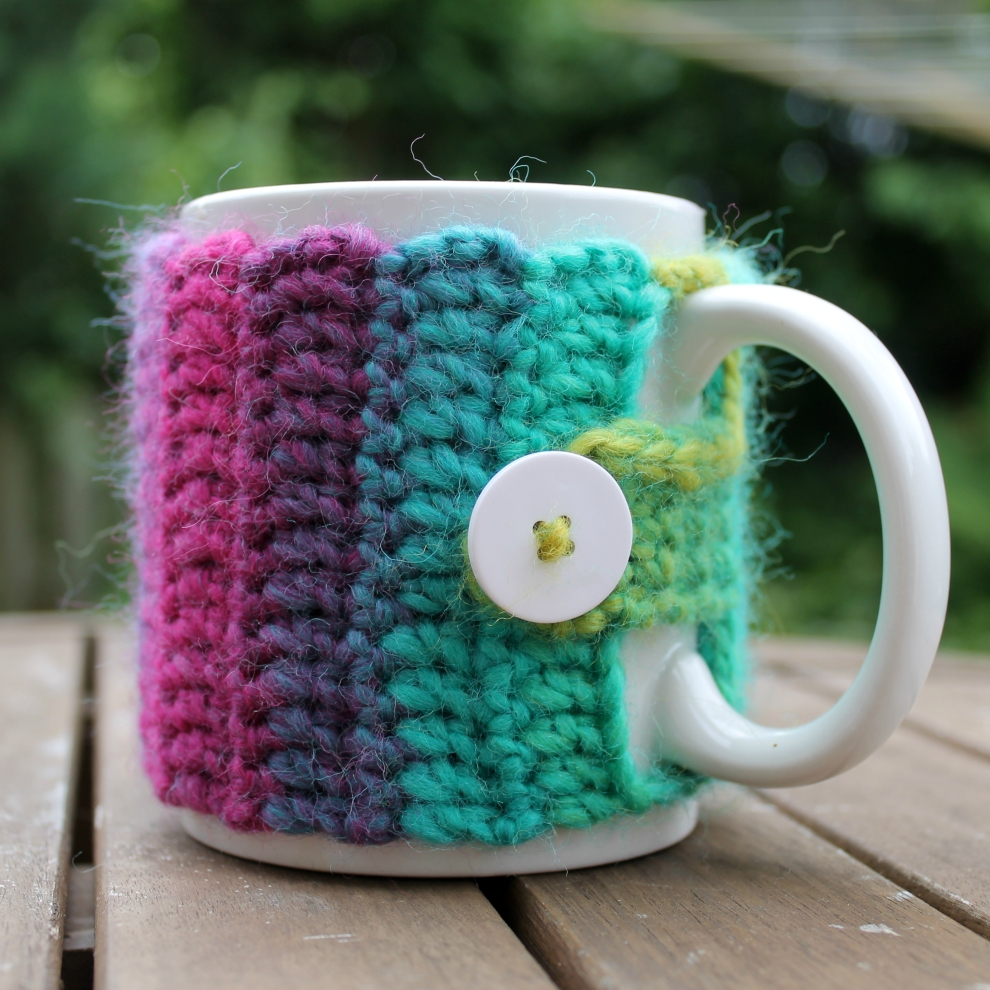 Rainbow Cozy - free tutorial