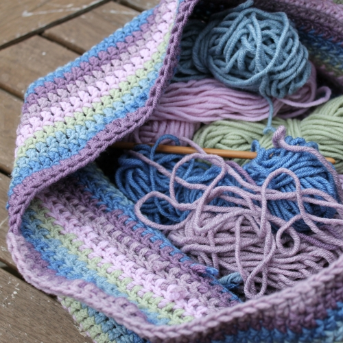 Crochet bag (free) pattern