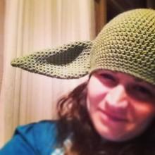 Yoda inspired hat