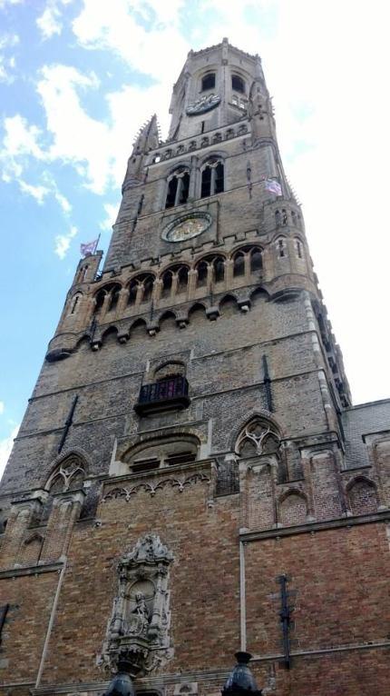 Bruges famous Belfry