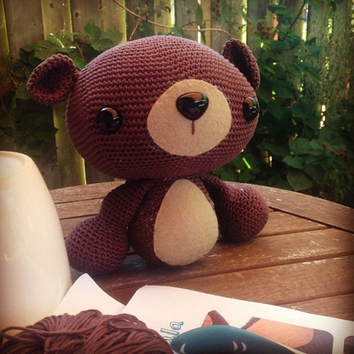 amigurumi bear pattern from A Morning Cup of Jo Creations