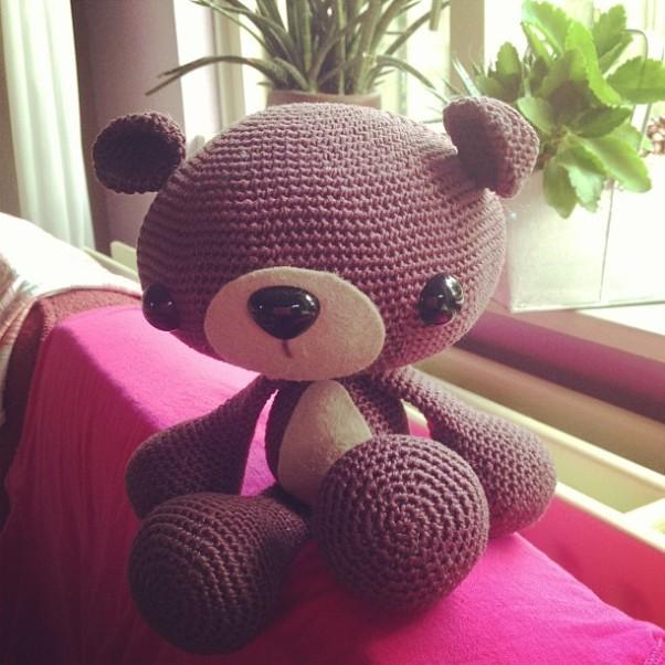 Huggable bear http://missneriss.com