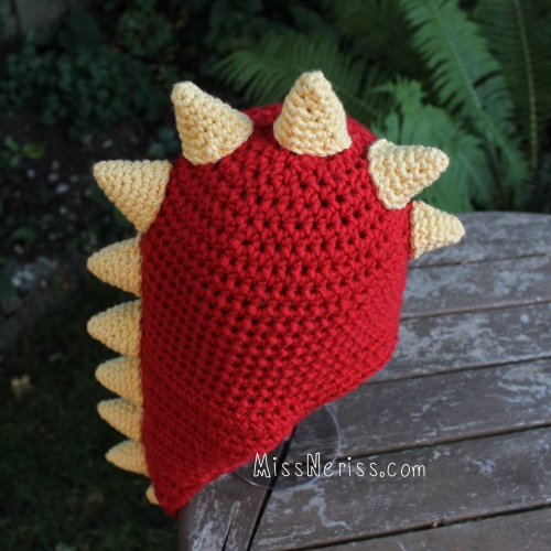 baby dragon hat on missneriss.com
