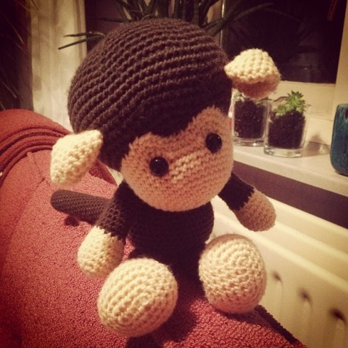 Johnny the Monkey from #Zoomigurumi on missneriss.com