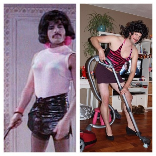 I want to break free #Movember