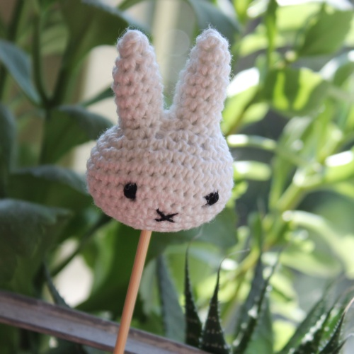 Miffy crochet cake pop on missneriss.com