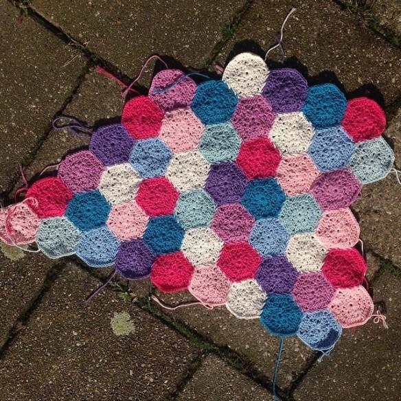 #crochetmoodblanket2014 update on missneriss.com