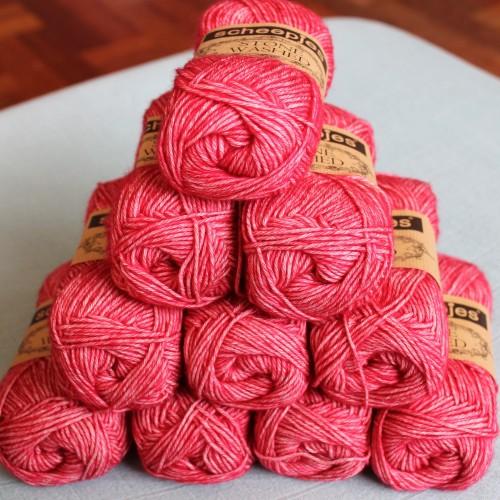 Scheepjes Stone Washed in Red Jasper #scheepjes #scheepjeswol #stonewashed