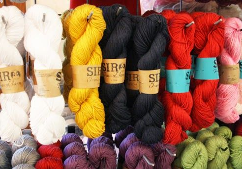 Happy in Red's love affair with Istanbul's yarn district