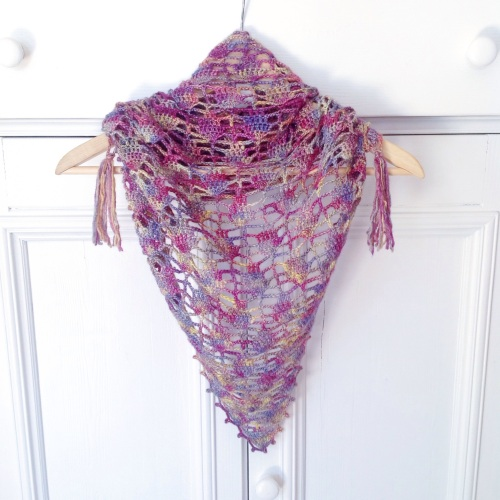 Limpe Pickle shawl on missneriss.com