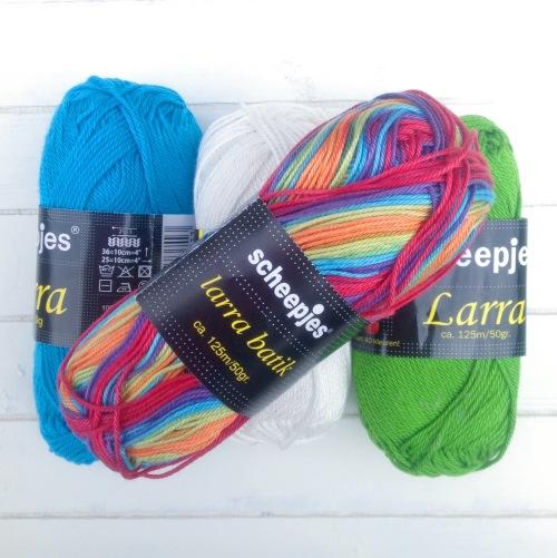 It's Yarn Day! Larra Mercerized Cotton Yarn from Scheepjeswol