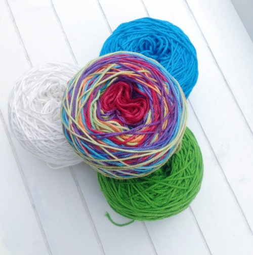 It's Yarn Day! Larra Mercerized Cotton Yarn from Scheepjeswol