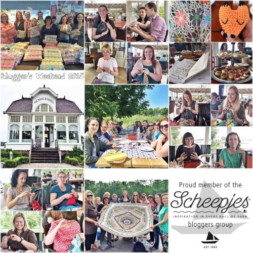All the highlights from the @scheepjes blogger weekend in Tynaarlo