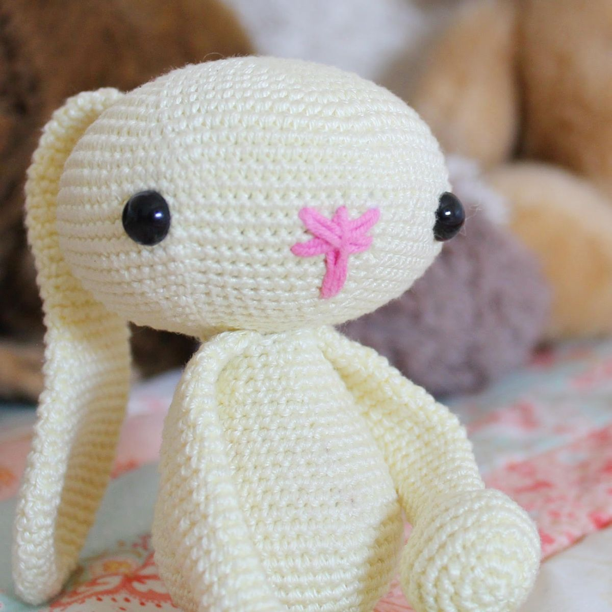 Awesome and Free Amigurumi Bunny Pattern Ideas - Free Amigurumi ... | 1200x1200