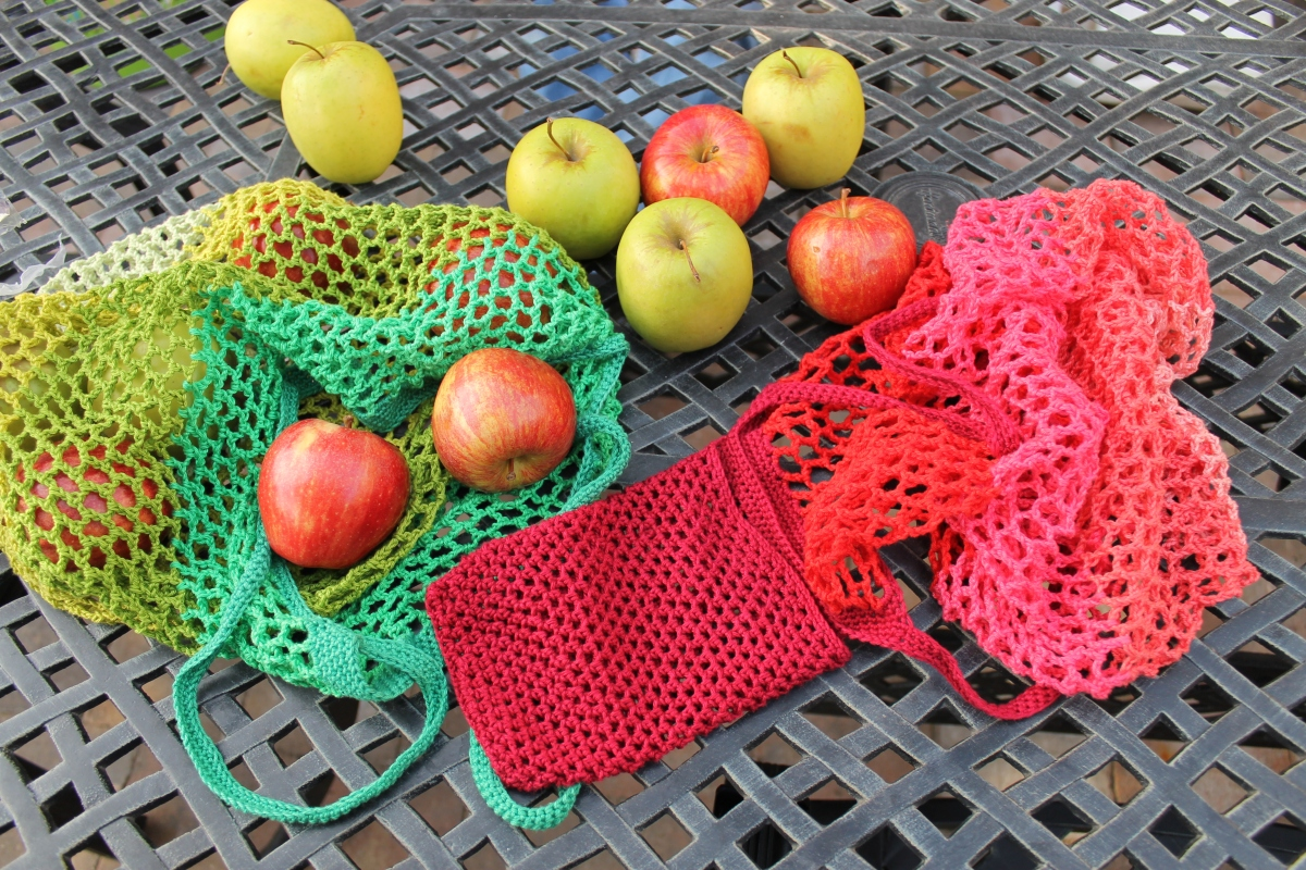 The Granny Smith Market Bag Free Pattern and Tutorial