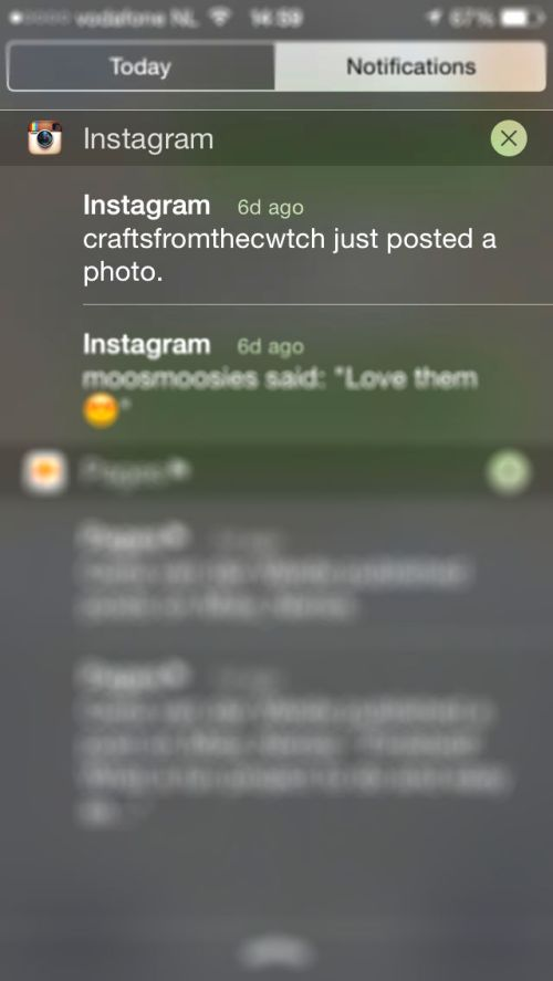 Activate post notifications for Instagram