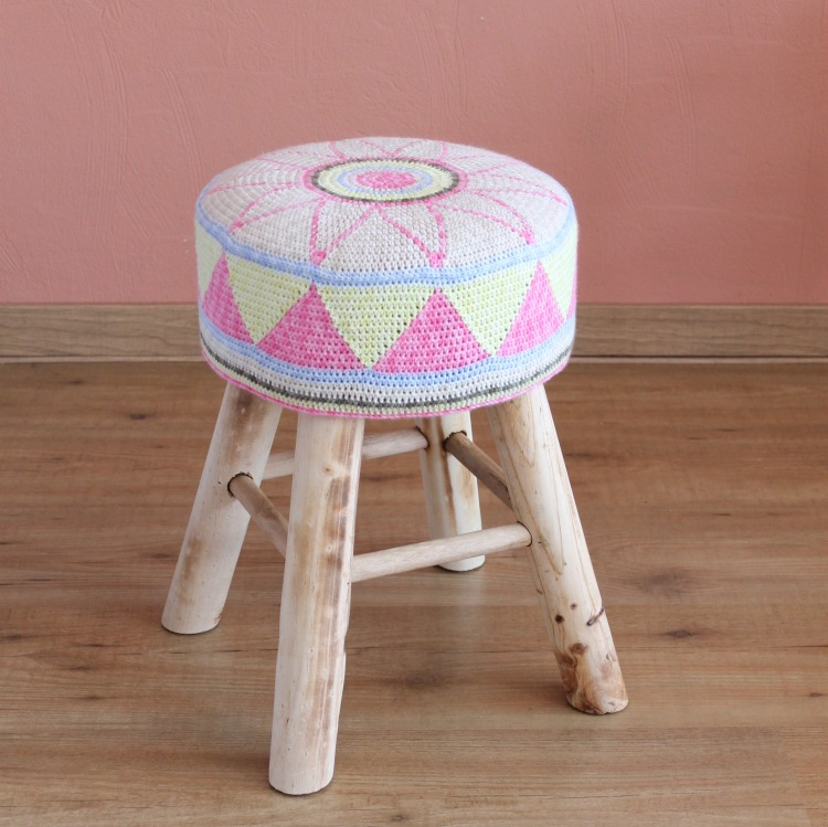 egyptian star flower stool