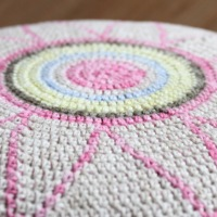 Egyptian Star Flower Stool - Free Pattern