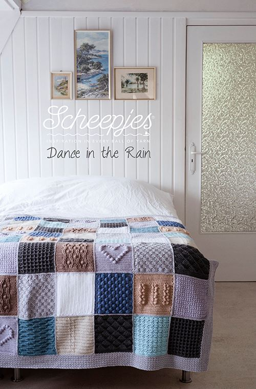 Scheepjes CAL 2016, Last Dance on the Beach. This is the beautiful Dance in the Rain colourway.