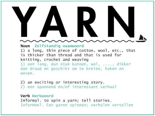 YARN - what's this all about?