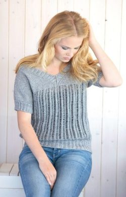 Stone Washed Top by Scheepjes. Yarn from http://shrsl.com/?bw5o