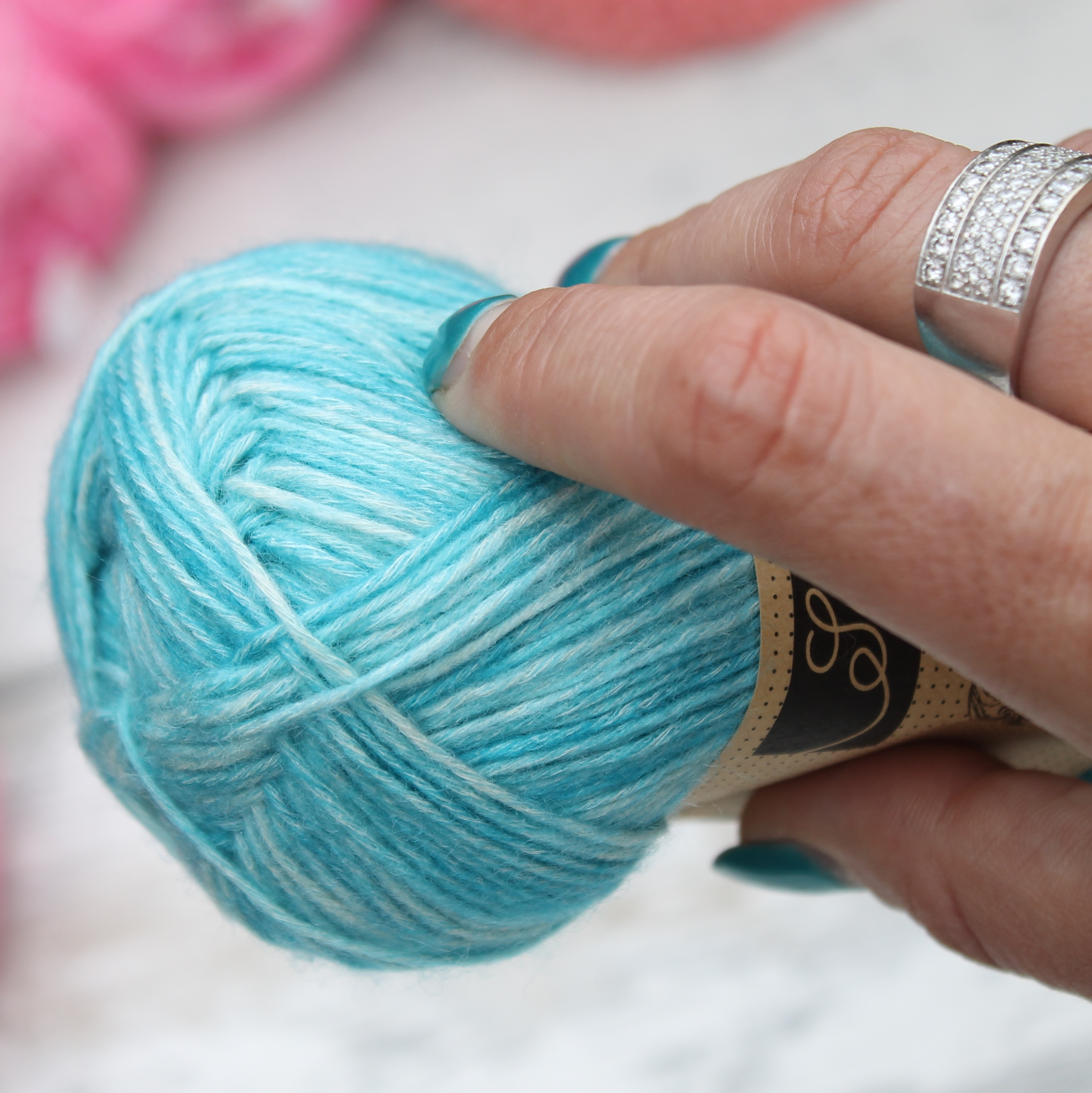 Scheepjes Spirit. Available from Wool Warehouse: http://bit.ly/woolwarehouse