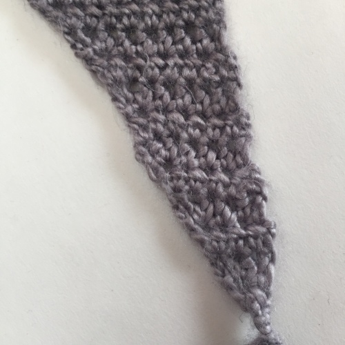 Cherry Blossom Shawl(ette) free crochet pattern by missneriss