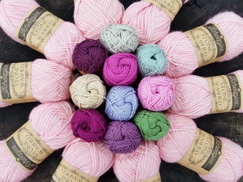 Girl's Night In Colourway for the Scheepjes Hygge CAL 2017