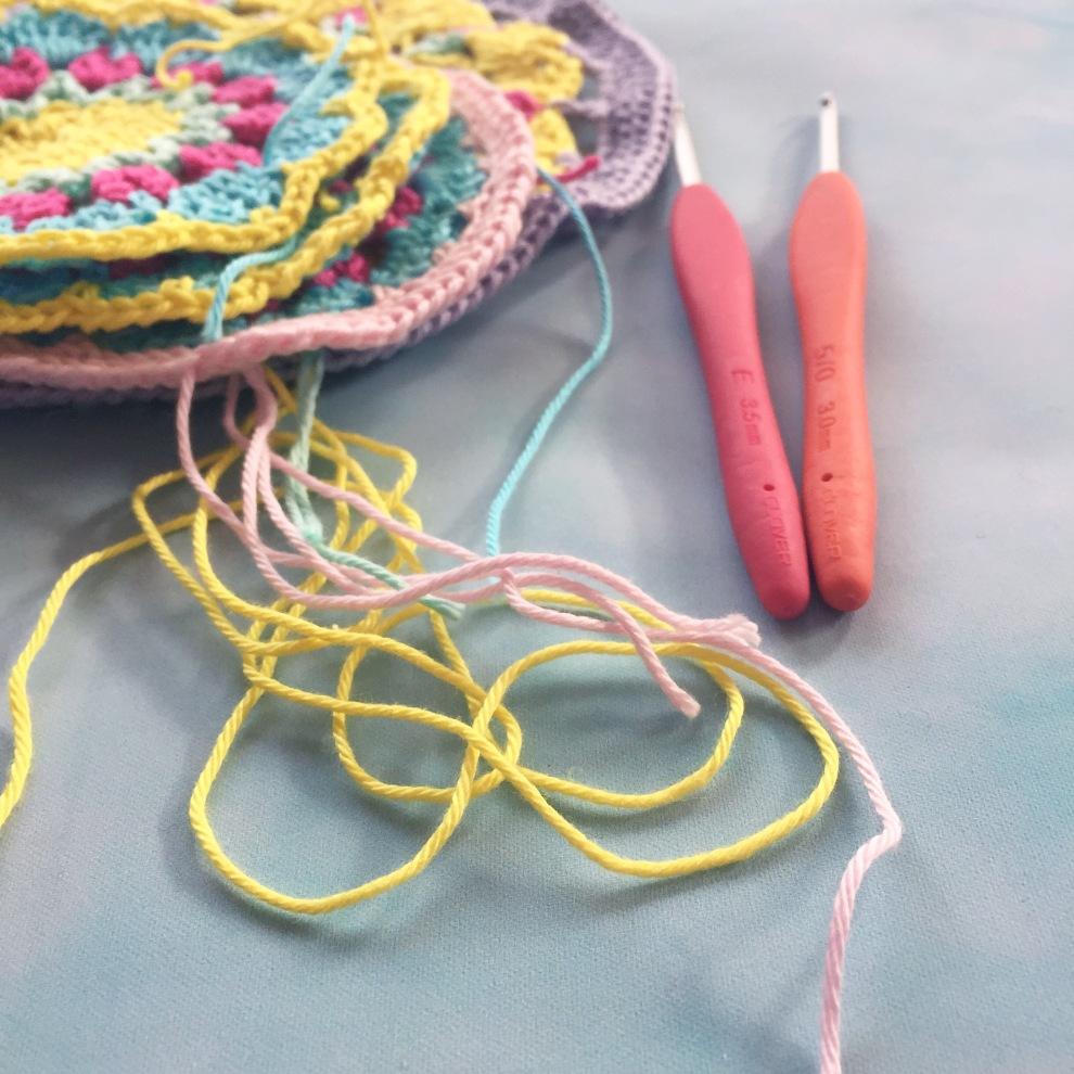 Spring crochet WIP
