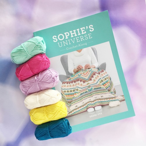 Sophie's Universe, by Dedri Uys. Available from Wool Warehouse: http://shrsl.com/?gxnh
