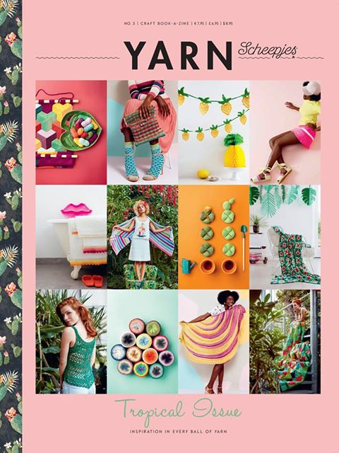 YARN - Tropical issue. Available at Wool Warehouse http://bit.ly/scheepjespublications