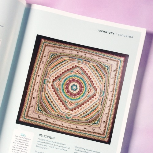 Sophie's Universe CAL by Dedri Uys, available at Wool Warehouse http://shrsl.com/ionz