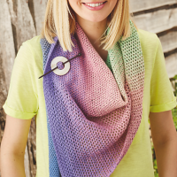 Fade Out Shawl in Simply Crochet!