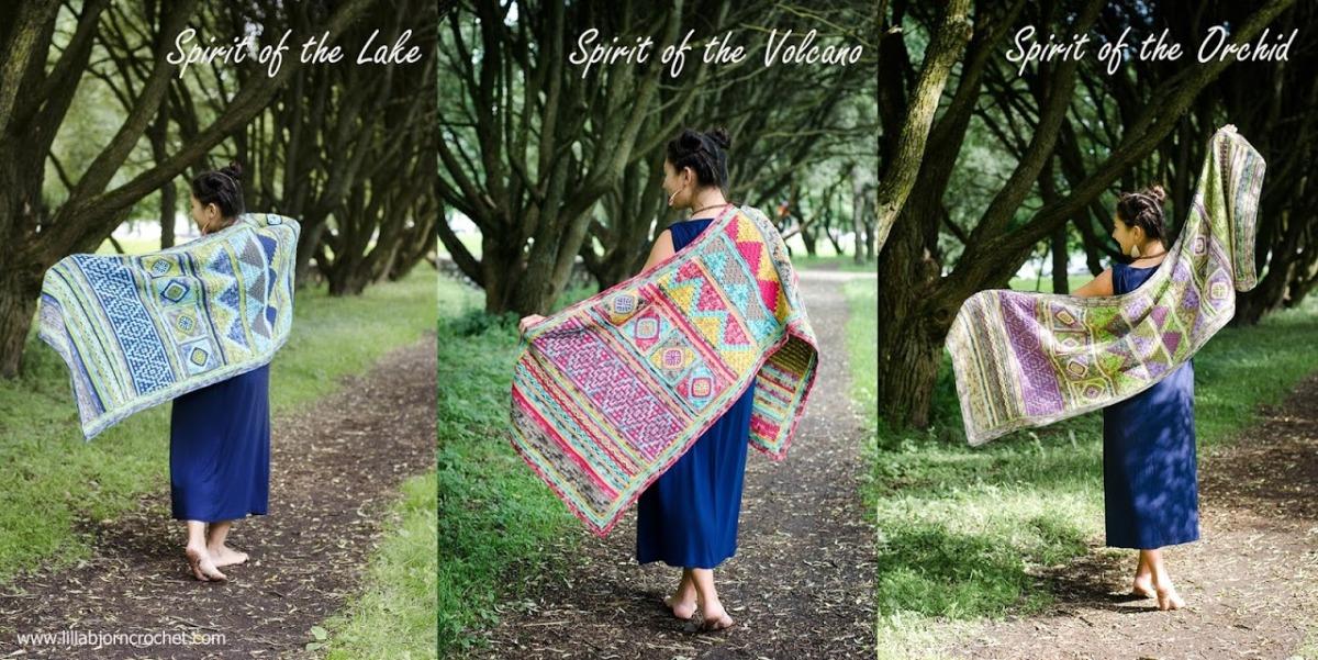 Spirits of Life CAL - by Lilla Bjorn Crochet