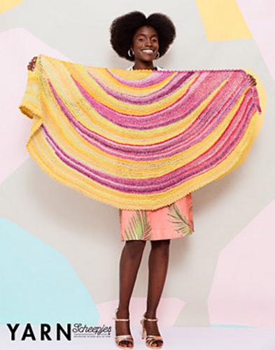 Pina Colada shawl by Nerissa Muijs on Ravelry: http://www.ravelry.com/patterns/library/pina-colada-shawl-2