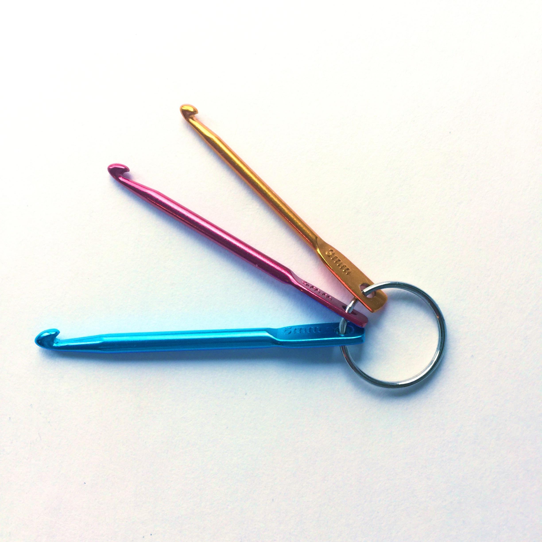 crochet hook key chain, buy on Aliexpress: http://bit.ly/crochetkeychain