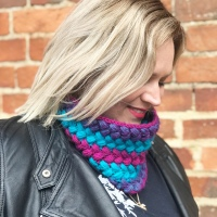 Braided Cowl, Free Crochet Pattern