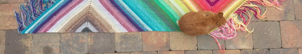 RainBOOM Wrap - free crochet pattern by MissNeriss