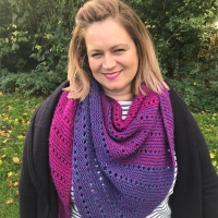 Flat Out Fabulous Shawl - Free Knit Pattern
