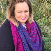 Flat Out Fabulous - Knit Shawl Big Reveal