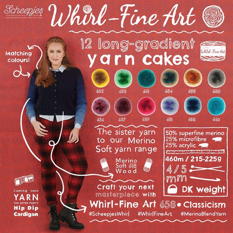 whirl fine art promo poster