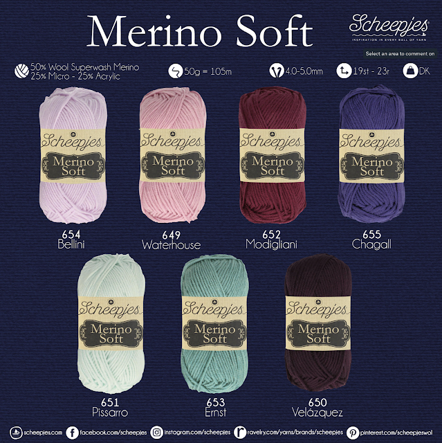 merino soft new shades