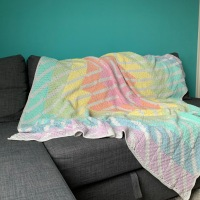 Centerpoint - Crochet Blanket REVEAL