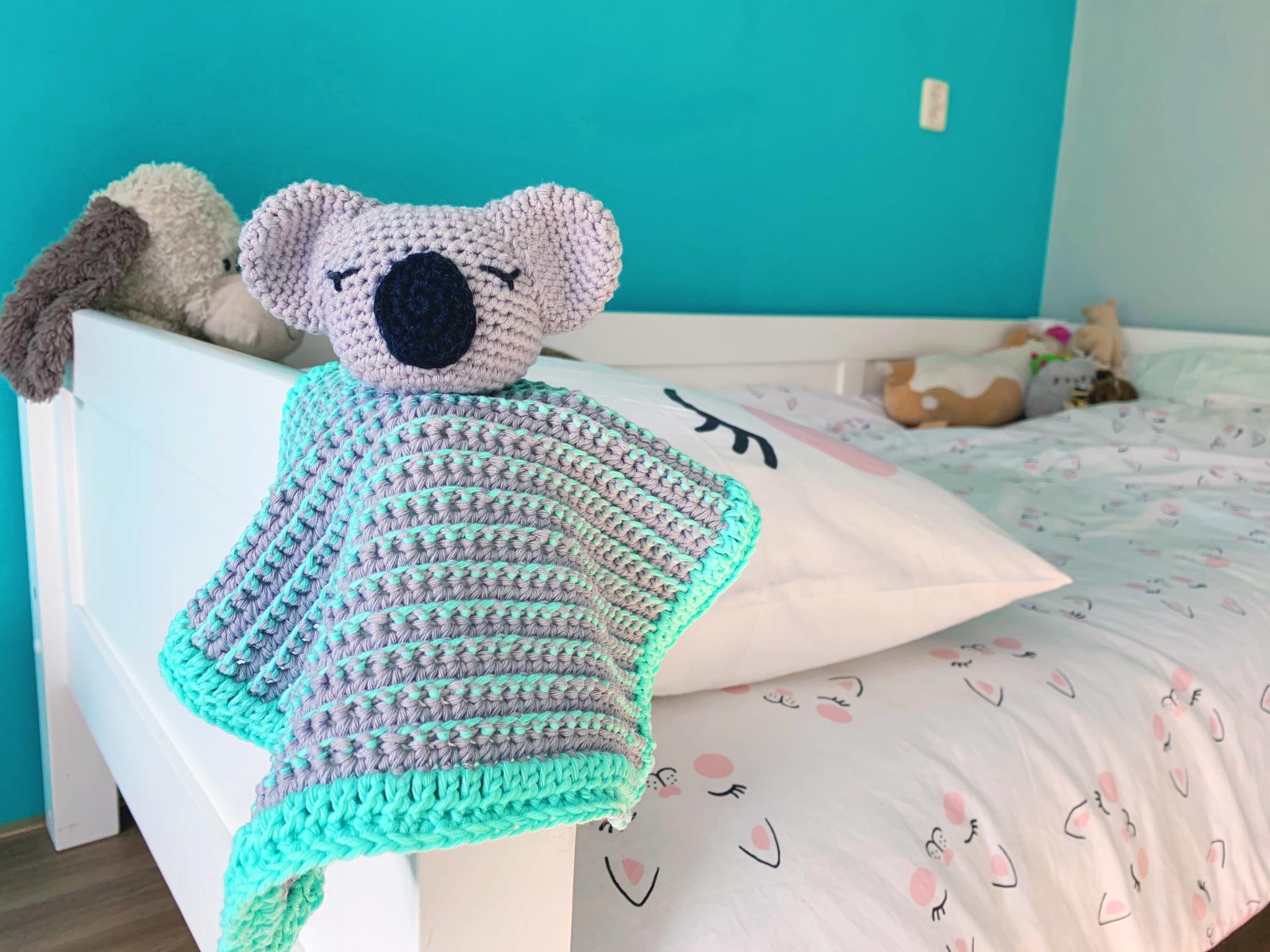 Koala Lovey – Free Crochet Pattern