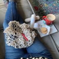 Legacy Crochet Mandala - WIP